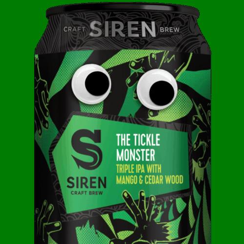 Siren Craft Brew Siren Craft Brew The Tickle Monster 1605529577Siren Craft Brew Tickle Eyes 330